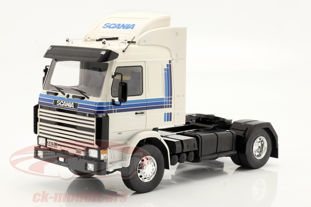 modelcar-group-1-18-scania-143-topline-truck-1987-white-blue-mcg18143/