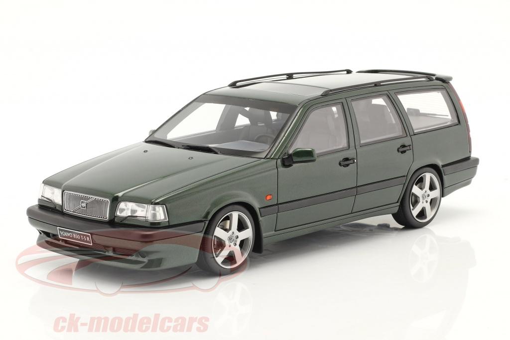 ottomobile-1-18-volvo-850-t5-r-annee-de-construction-1995-vert-fonce-metallique-ot928/
