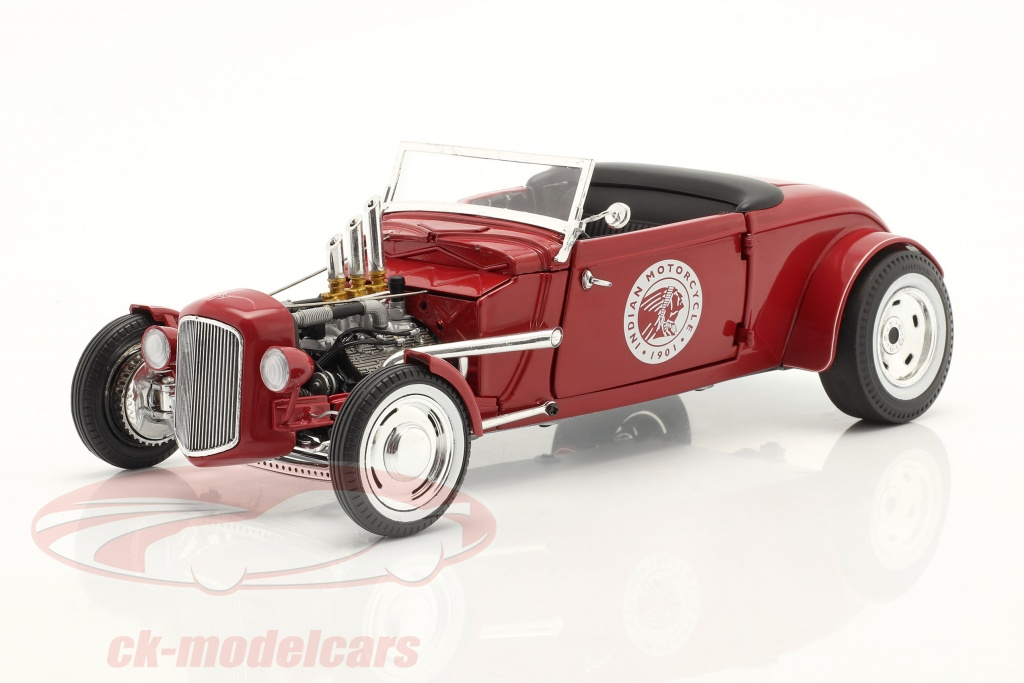 gmp-1-18-hot-rod-roadster-indian-motorcycle-1934-rouge-18958/