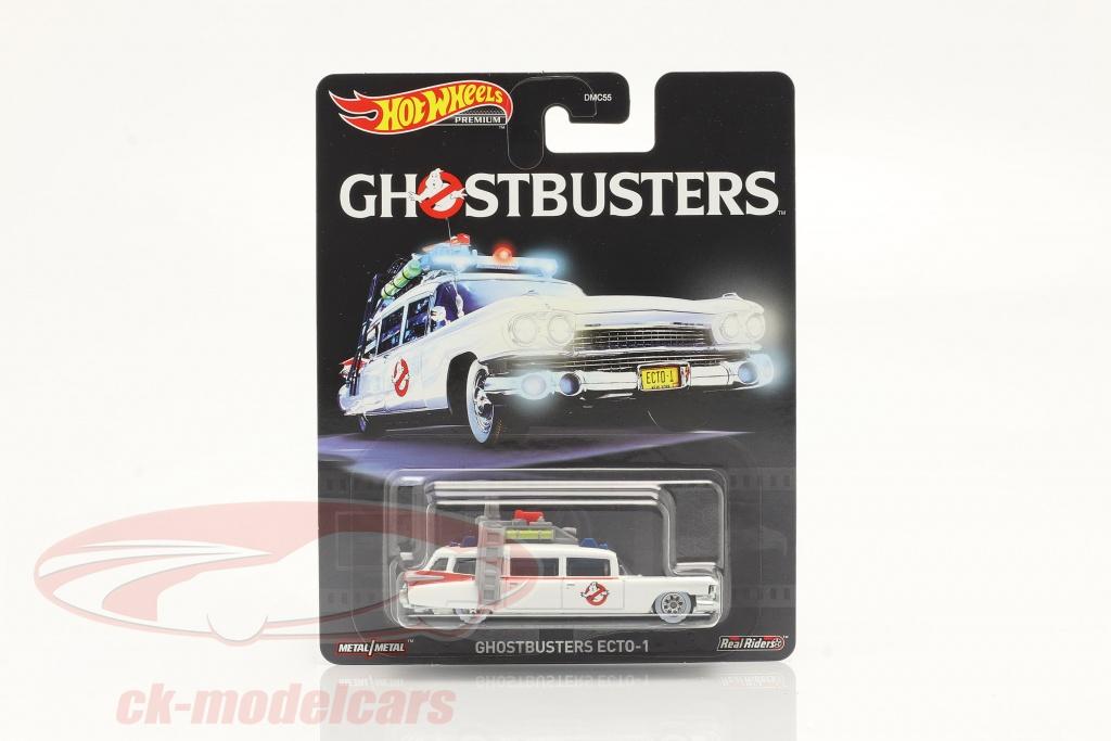 hotwheels-1-64-cadillac-ambulance-ecto-1-1959-movie-ghostbusters-1984-white-gjr39/
