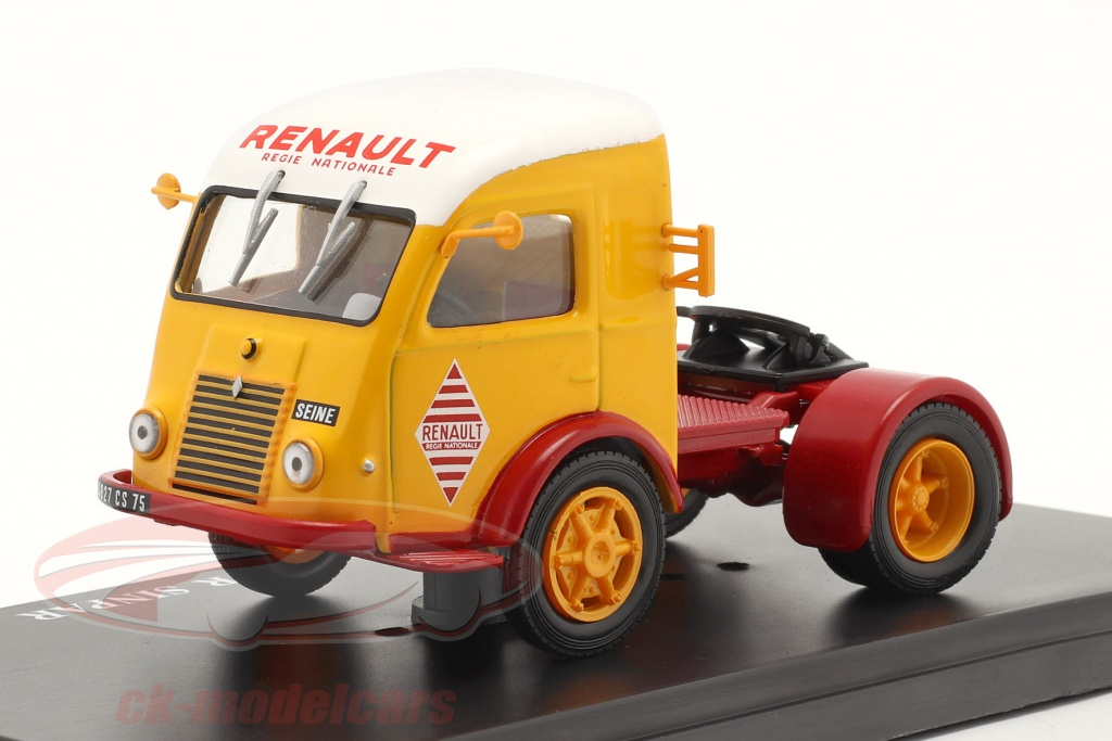 hachette-1-43-renault-25t-camion-sinpar-rouge-jaune-blanche-g111n037/