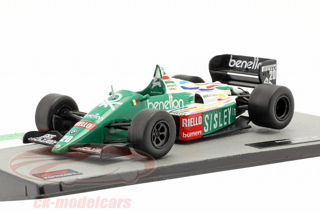 altaya-1-43-gerhard-berger-benetton-b186-no20-formula-1-1986-ck71460/
