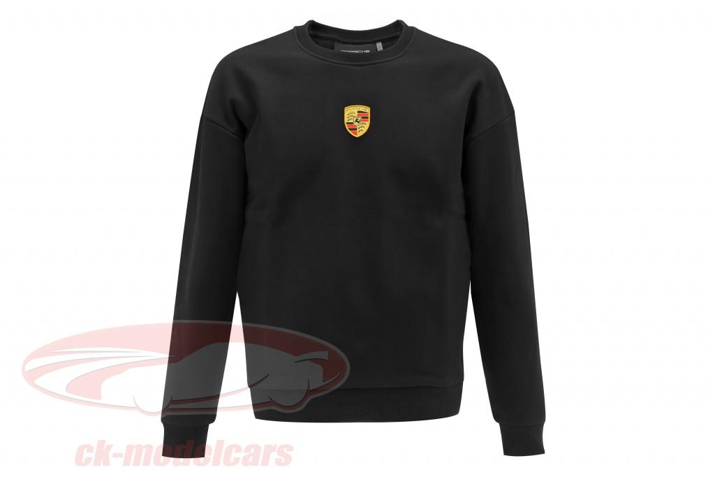 porsche-pour-des-hommes-sweat-shirt-lart-de-lautomobile-le-noir-wap13300s0ntra/s/