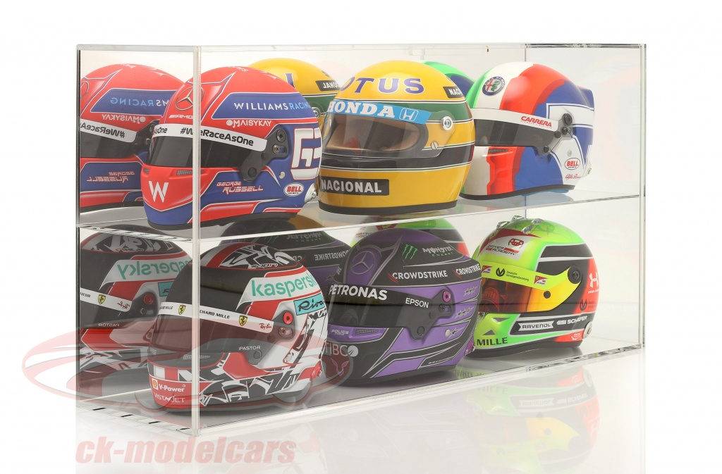 high-quality-mirrored-showcase-for-helmets-1-2-or-modelcars-1-18-safe-ck99918009/