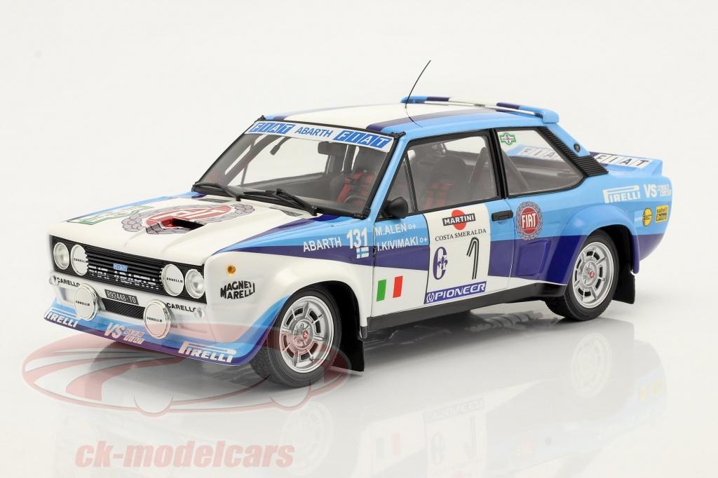 kyosho-1-18-fiat-131-abarth-no1-vinder-rallye-costa-smeralda-1981-alen-kivimaeki-08376d/