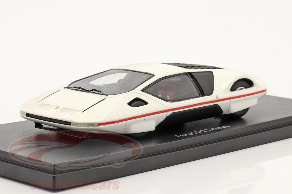 autocult-1-43-ferrari-512-s-modulo-par-pininfarina-geneve-salle-dexposition-pour-voitures-1970-blanche-90175/