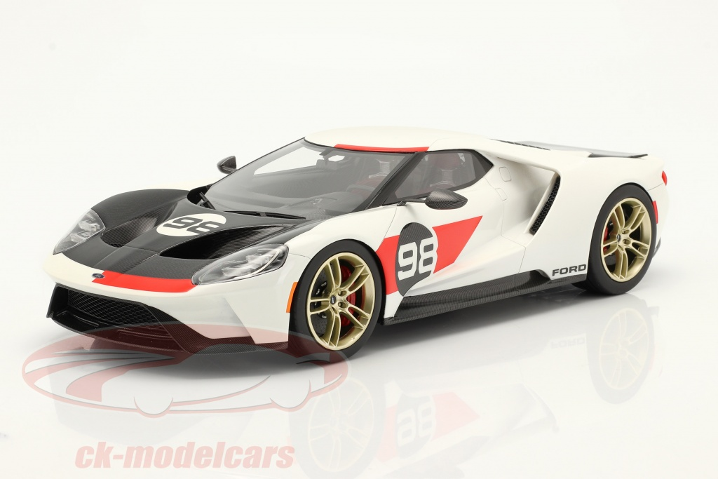 true-scale-1-18-ford-gt-no98-heritage-edition-2021-white-red-carbon-ts0317/