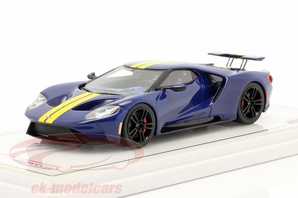 true-scale-1-43-ford-gt-sunoco-bleu-jaune-tsm430524/