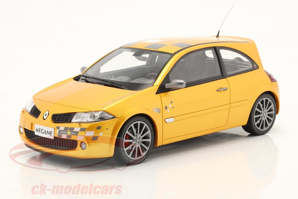 ottomobile-1-18-renault-megane-rs-f1-team-edition-annee-de-construction-2002-jaune-ot914/
