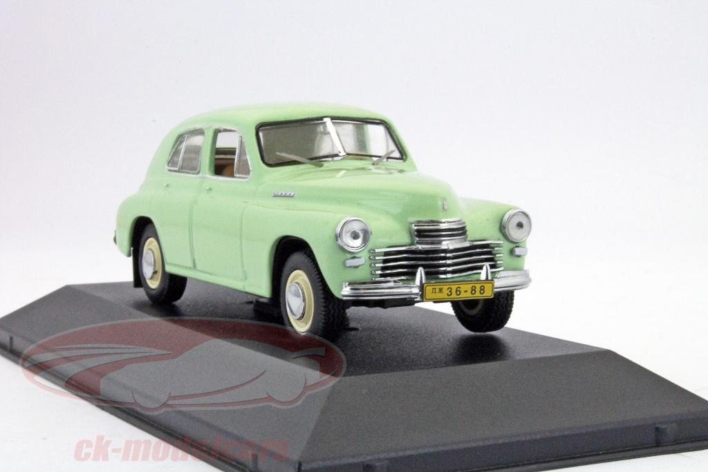 ixo-1-43-gaz-m20-pobieda-built-1949-light-green-ist-ist130/