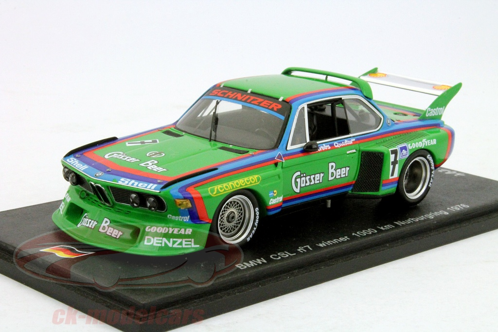 spark-1-43-bmw-csl-no7-winner-1000km-nuerburgring-1976-quester-krebs-sg022/