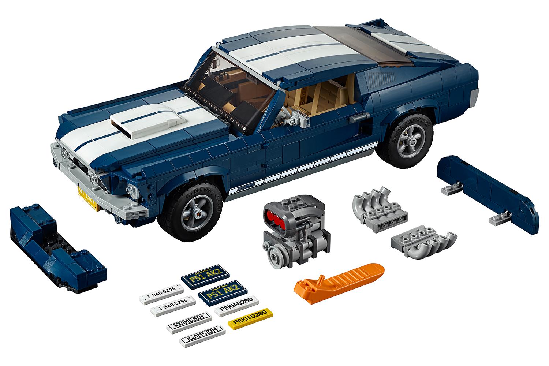 LEGO® Creator™ Expert Ford Mustang blå / hvid