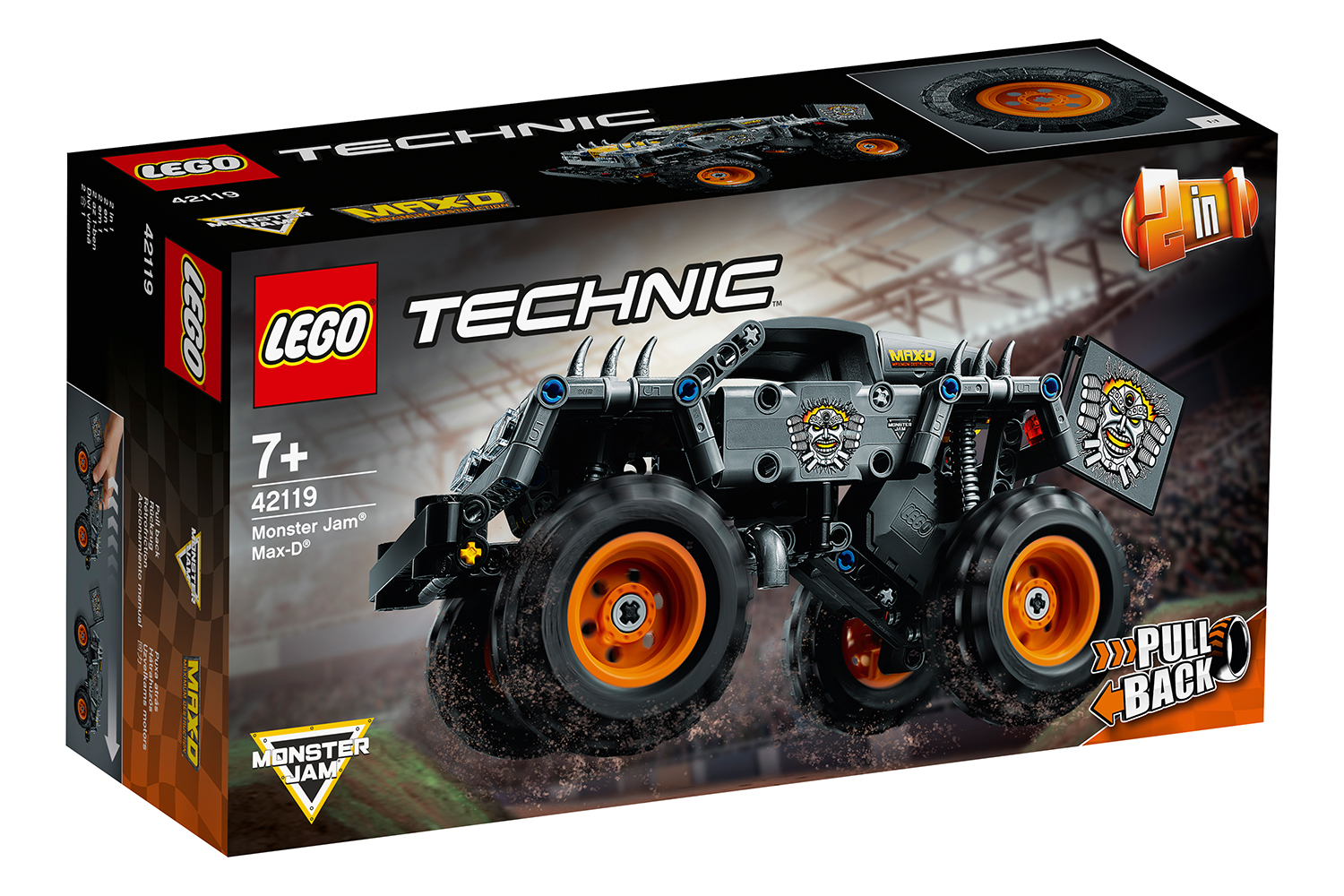 lego-technic-monster-jam-max-d-42119/