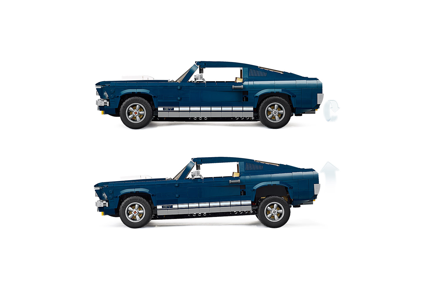 LEGO® Creator™ Expert Ford Mustang blauw / wit