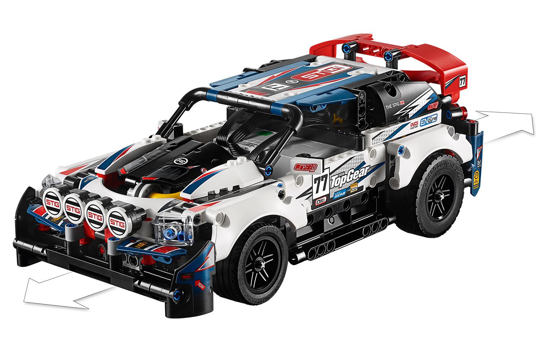 LEGO® Technic Top-Gear Ralleyauto mit App-Steuerung