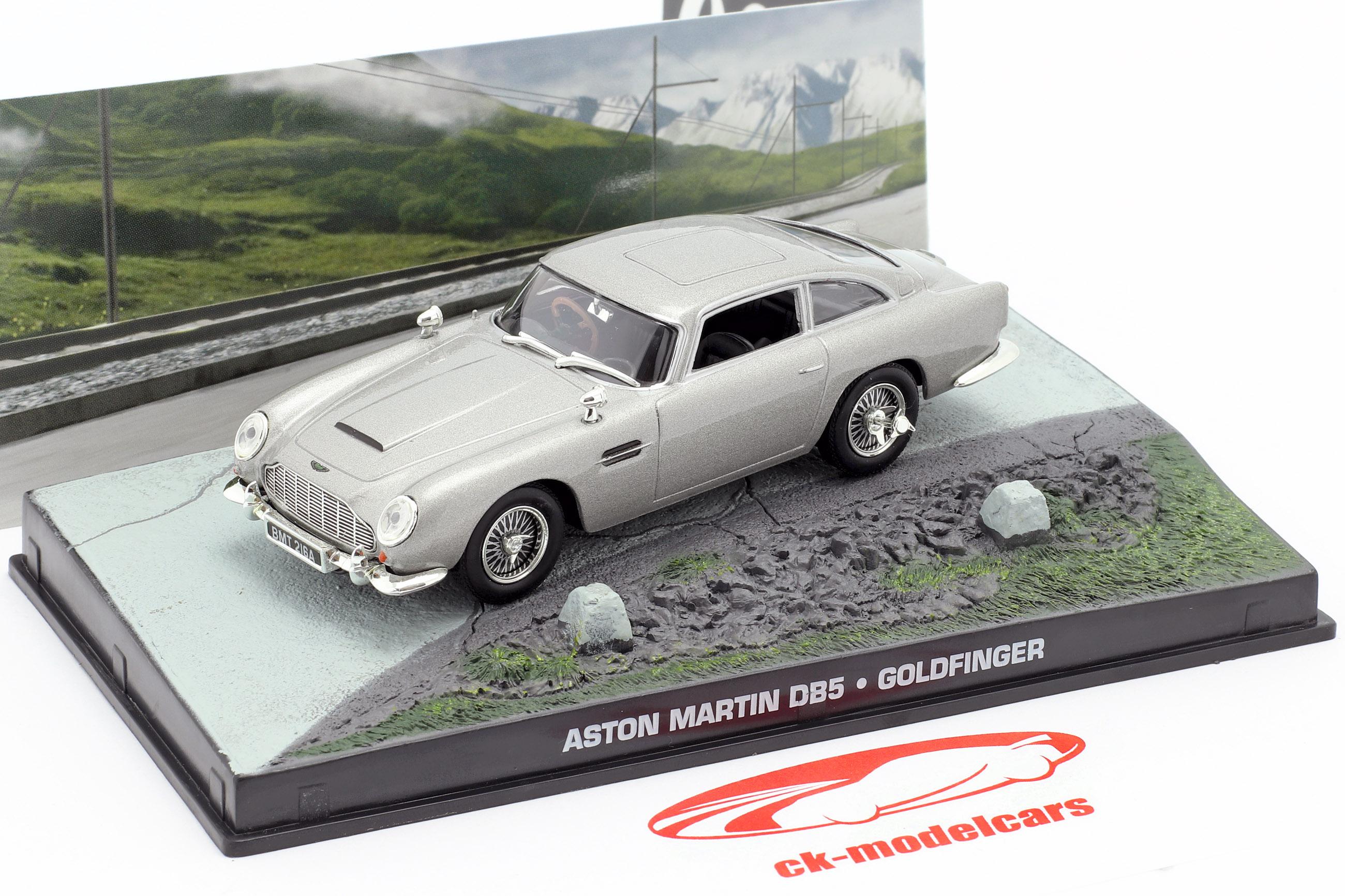 Aston Martin DB5 James Bond filmen Goldfinger Car Silver 1:43 Ixo