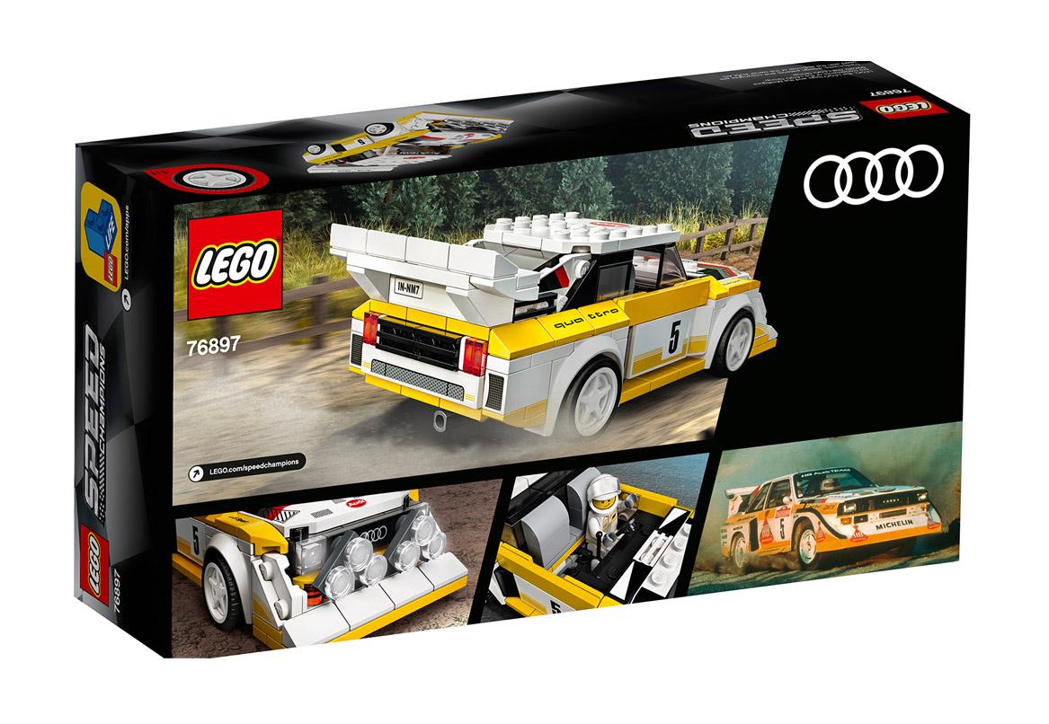 LEGO® Speed Champions 1985 Audi Sport quattro S1