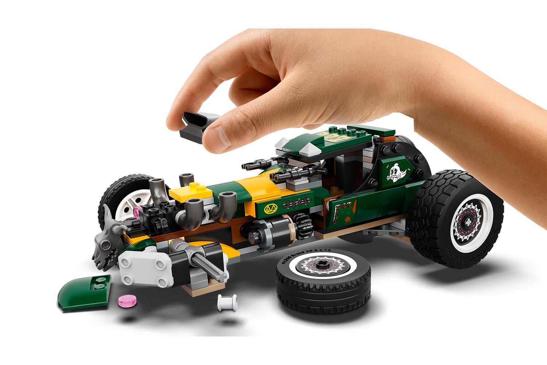 LEGO® Hidden Side™ Übernatürlicher Rennwagen
