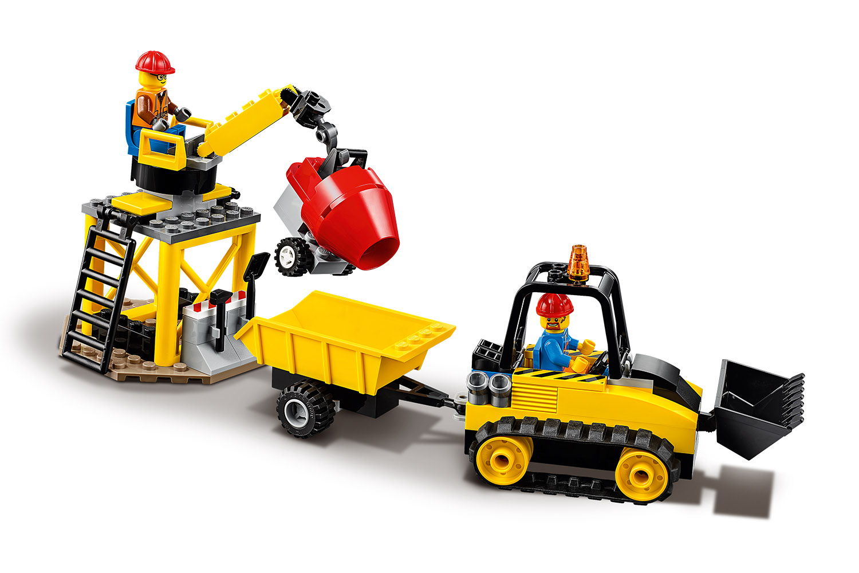 LEGO® City Bagger auf der Baustelle