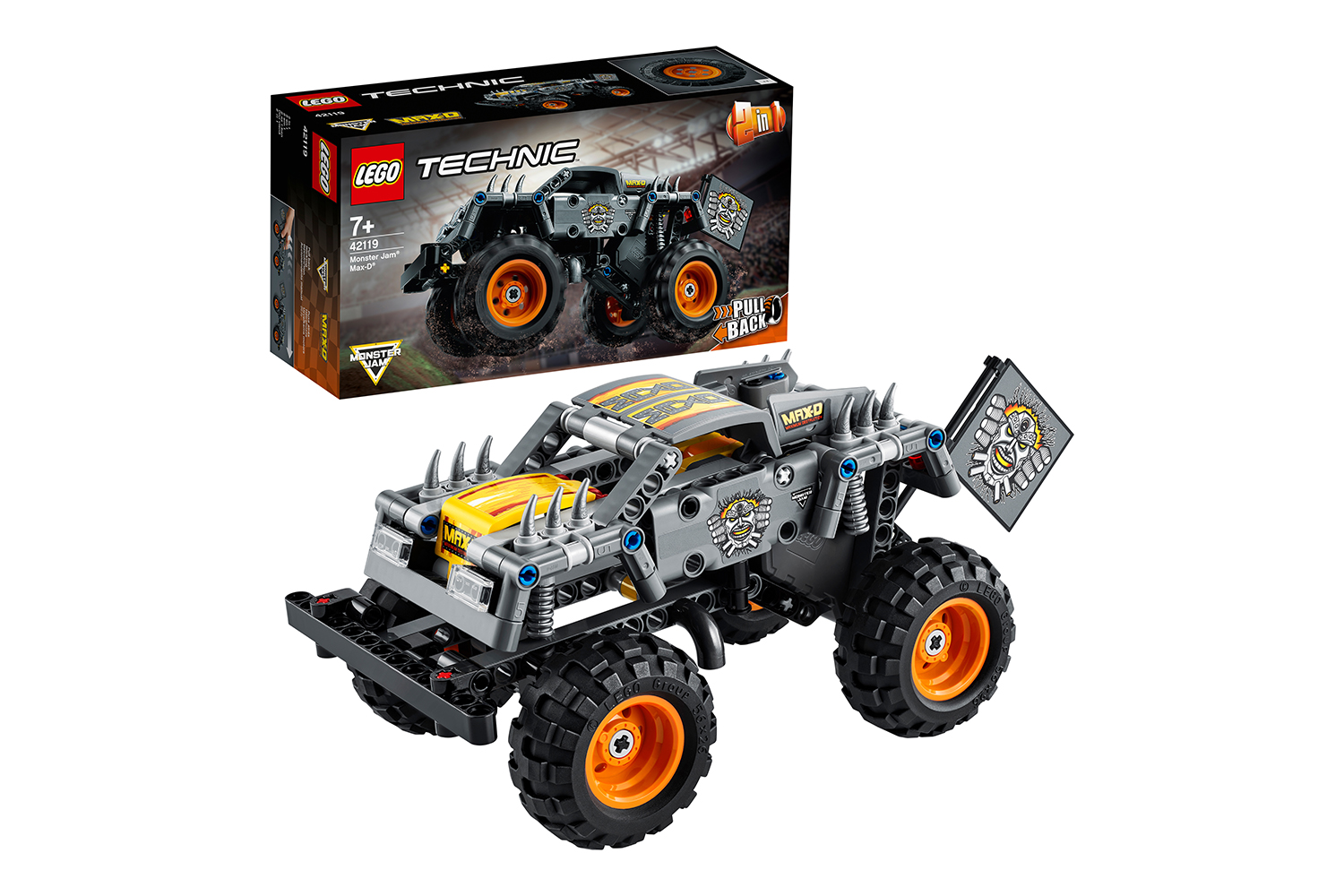 LEGO® Technic Monster Jam® Max-D®