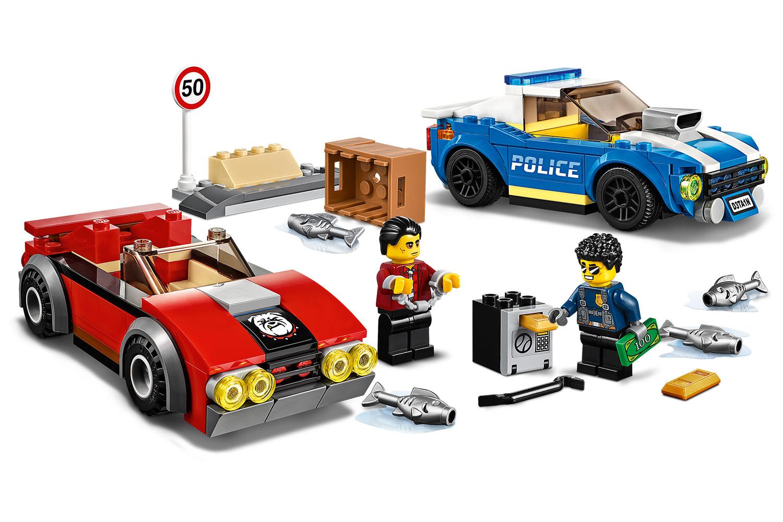 LEGO® City Festnahme auf der Autobahn