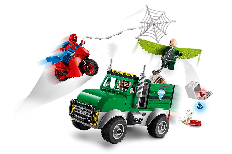 LEGO® Marvel Spiderman Vultures LKW-Überfall