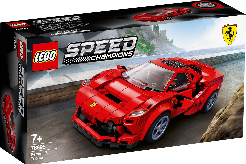 LEGO® Speed Champions Ferrari F8 Tributo