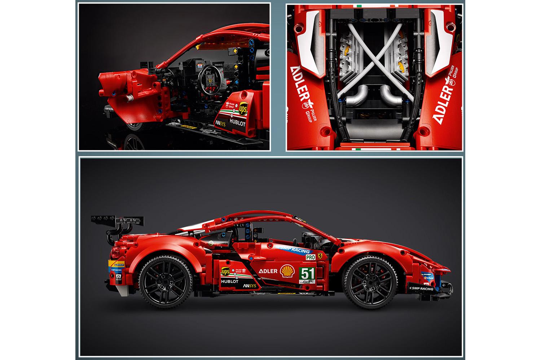LEGO® Technic Ferrari 488 GTE AF Corse #51
