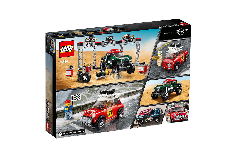 LEGO® Speed Champions 1967 Mini Cooper S Rallye and Mini John Cooper Works Buggy