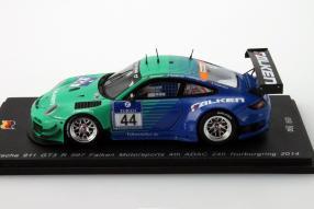 Falken Porsche 997 GT3 R im Maßstab 1:43
