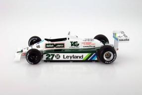 Modell Williams FW07B im Maßstab 1:18 von Spark