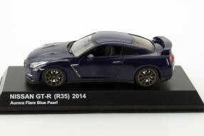 Modellauto Nissan GT-R Typ R35 von Kyosho im Maßstab 1:43