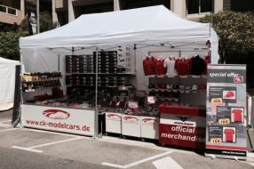 ck-modelcars bei der Formel 1 in Monaco 2015