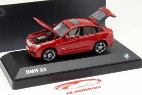 BMW X4 als Modellauto im Maßstab 1:43 von Herpa