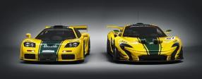 McLaren F1 GTR und McLaren P1