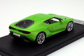 Modellauto Lamborghini Asterion Mantis-Grün im Maßstab 1:43