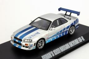 """Brians Nissan Skyline GT-R """"The Fast and the Furious"""""""