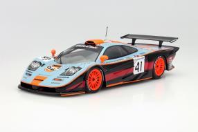 McLaren F1 GTR Le Mans 1997 Gulf 1:18