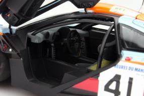Modellauto McLaren F1 GTR Minichamps Gulf 1:18