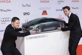 Audi Fleet Shuttle Quattro mit Marco Kreuzpaintner und Max Felder