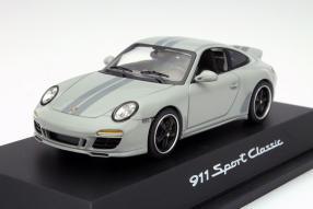 Schuco Porsche 911 Sport Classic 2009 in 1:43