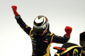 Kimi Räikkönen Sieger Abu Dhabi 2012