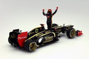Modellauto Kimi Räikkönen Sieger Abu Dhabi 2012