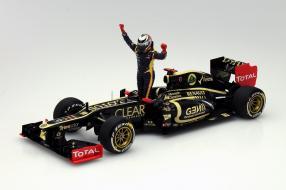 Minichamps Kimi Räikkönen Sieger Abu Dhabi 2012