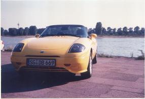 Privatwagen des Autors von 1999
