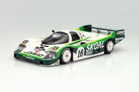 Modellauto Porsche 956 Langheck Skoal Bandit 1983 1:18