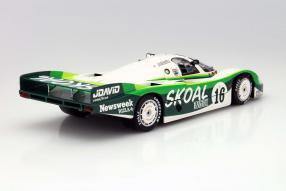 Porsche 956 Langheck Skoal Bandit 1983 Maßstab 1:18