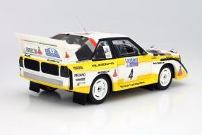 Audi Sport quattro S1 Lombard Rallye 1985  Maßstab 1:18