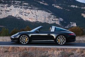 Das Vorbild: Porsche 911 / 991 Targa 4S