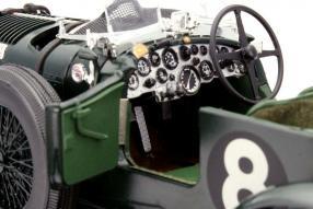 Interieur Blower Bentley Minichamps Maßstab 1:18